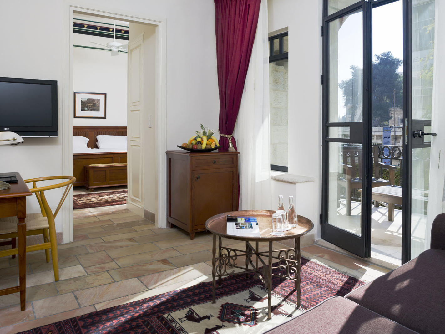 Suite at The American Colony Hotel in Jerusalem
