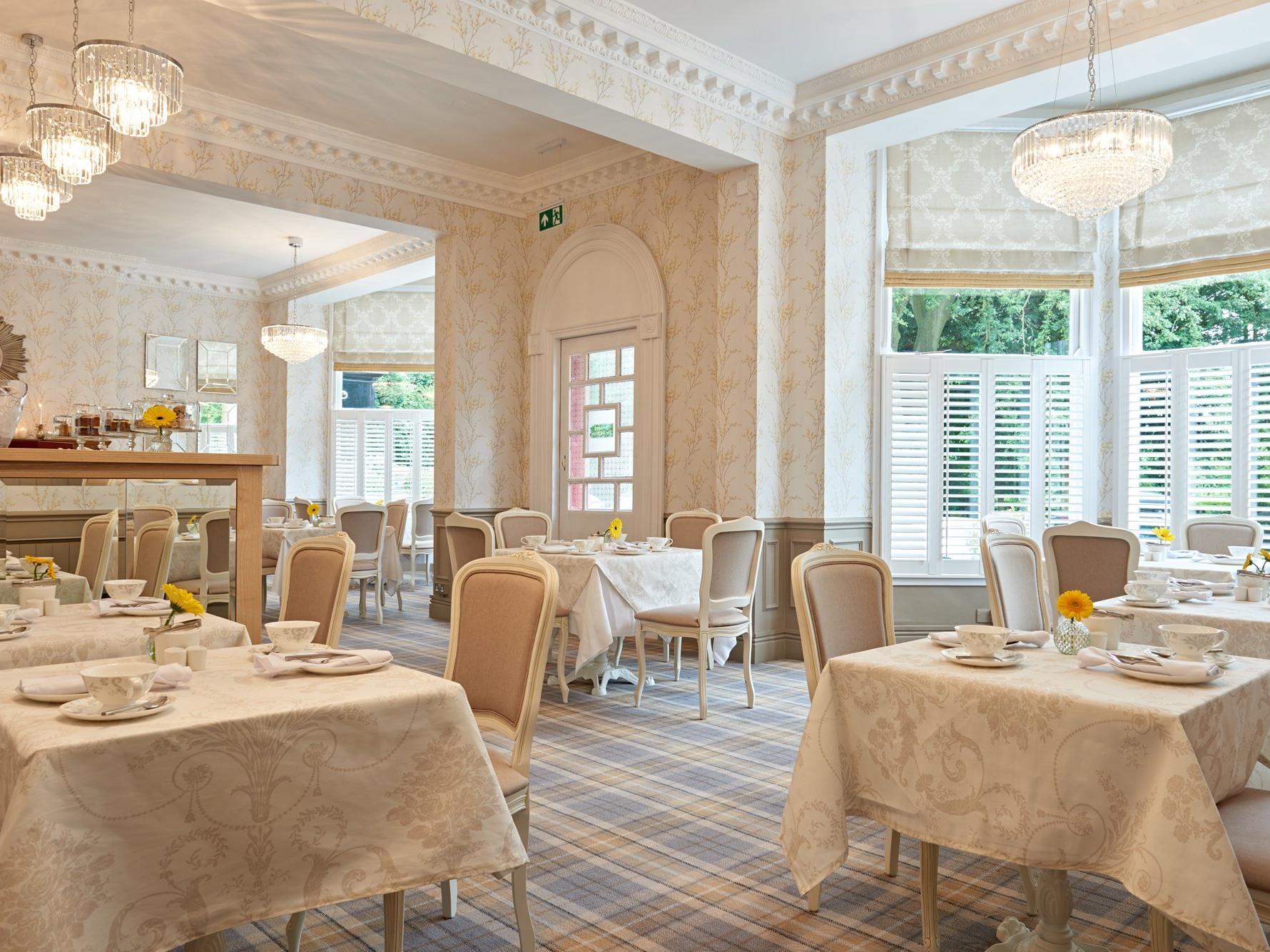 Tea rooms in Solihull at Laura Ashley afternoon tea