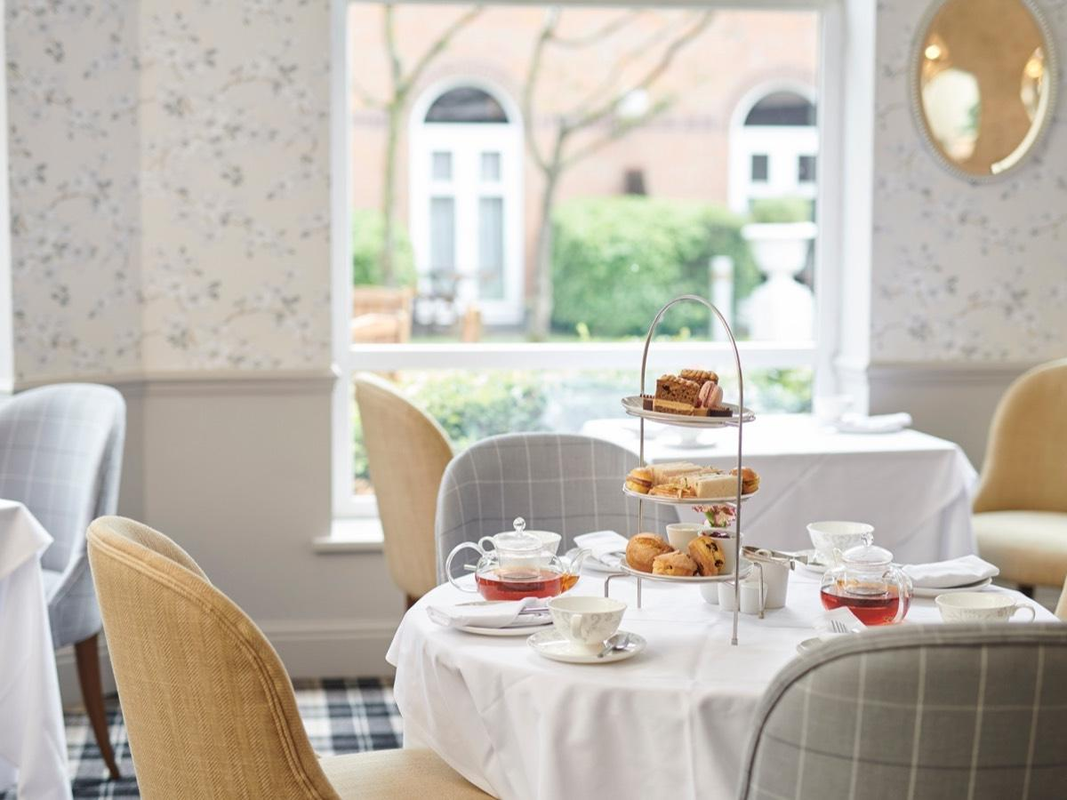 Afternoon tea in Solihull by Laura Ashley Tea Rooms