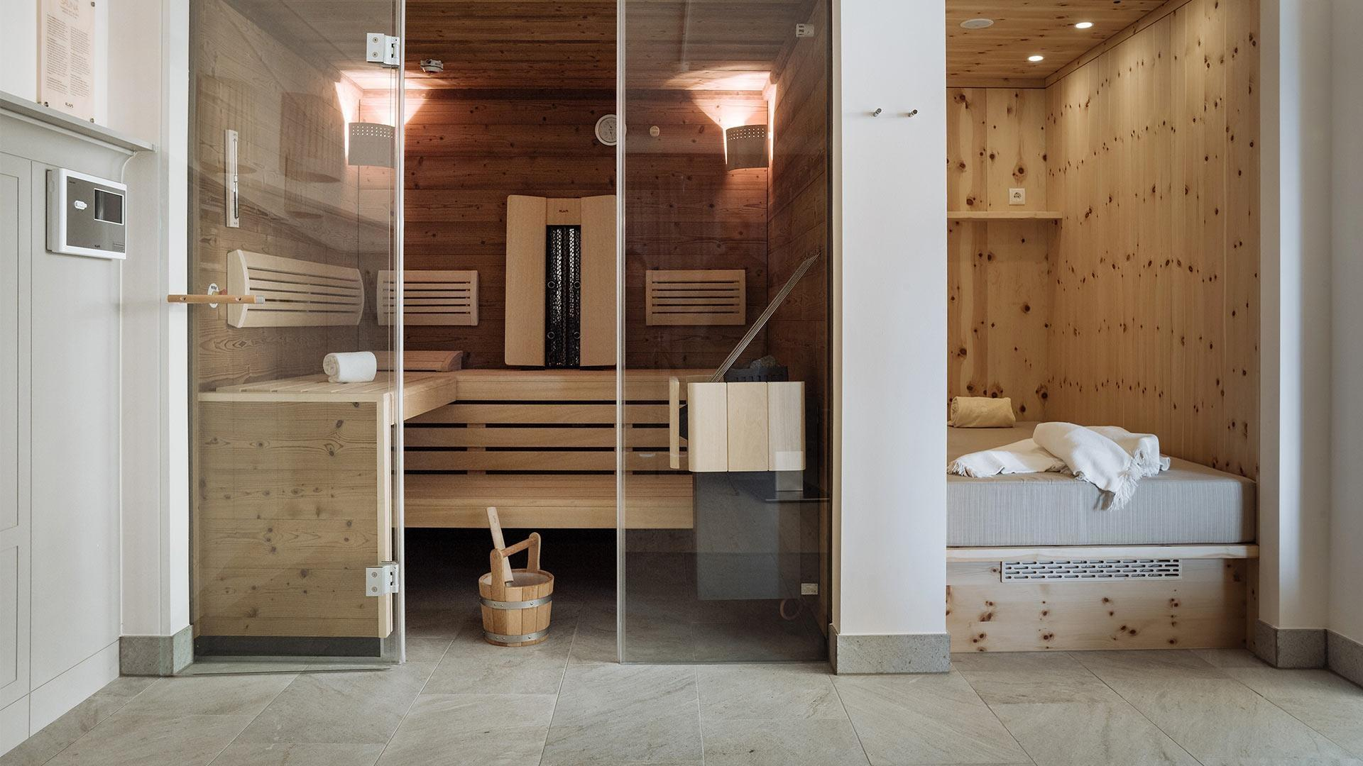 Private SPA Suite mit Balkon im Schloss Pichlarn