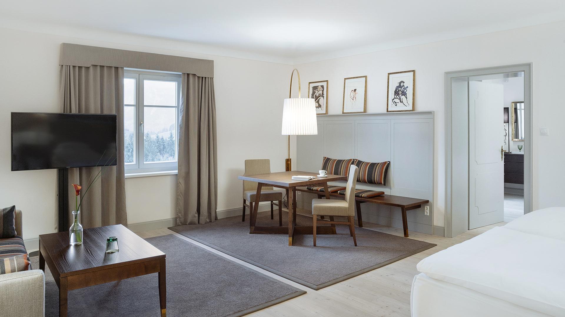 Private SPA Suite mit Balkon im Romantik Hotel Schloss Pichlarn