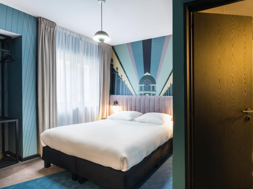 Double room at Hotel Hubert Brussels