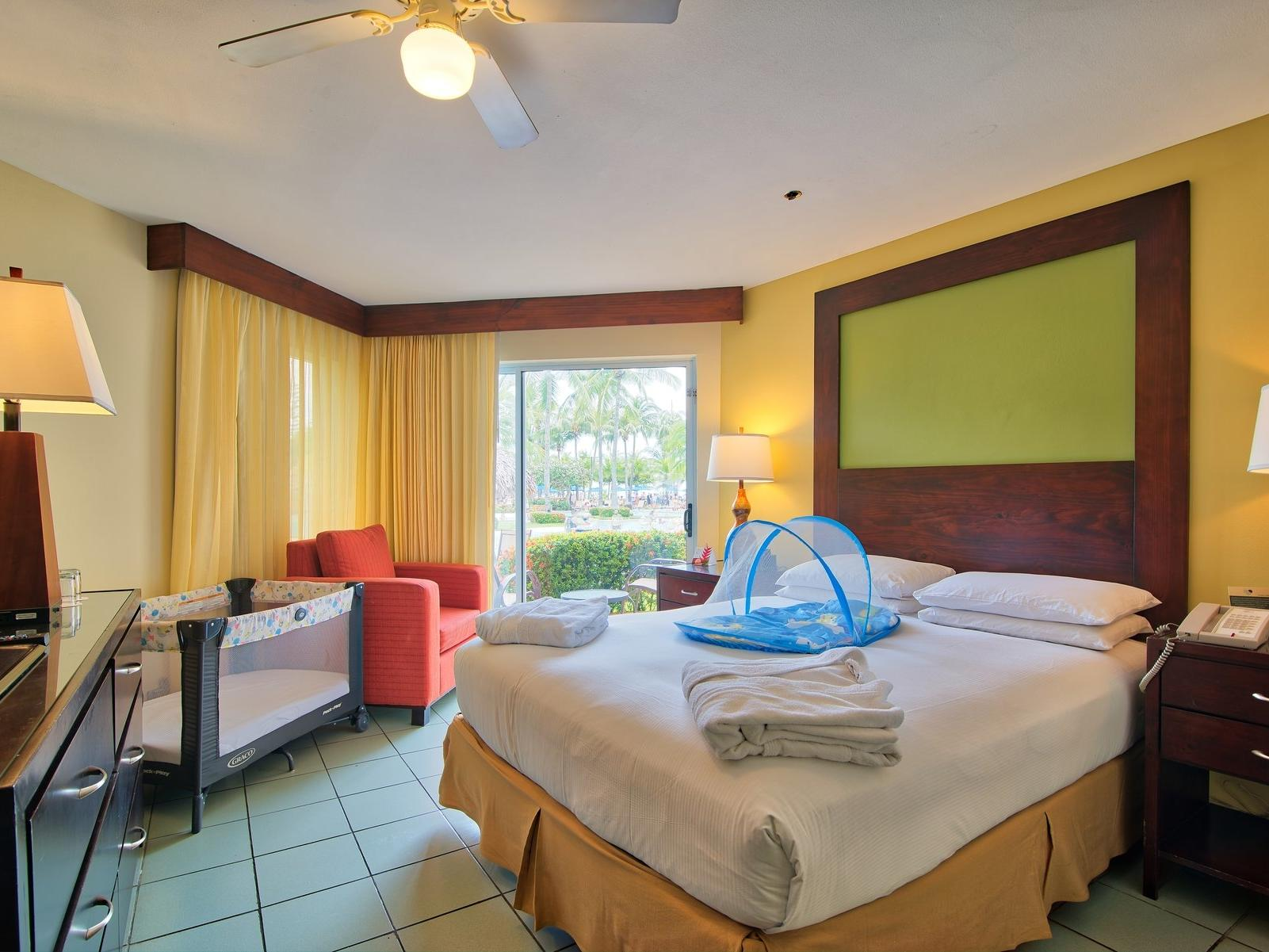 Jr suite family room with kids facilities  at Fiesta Resort