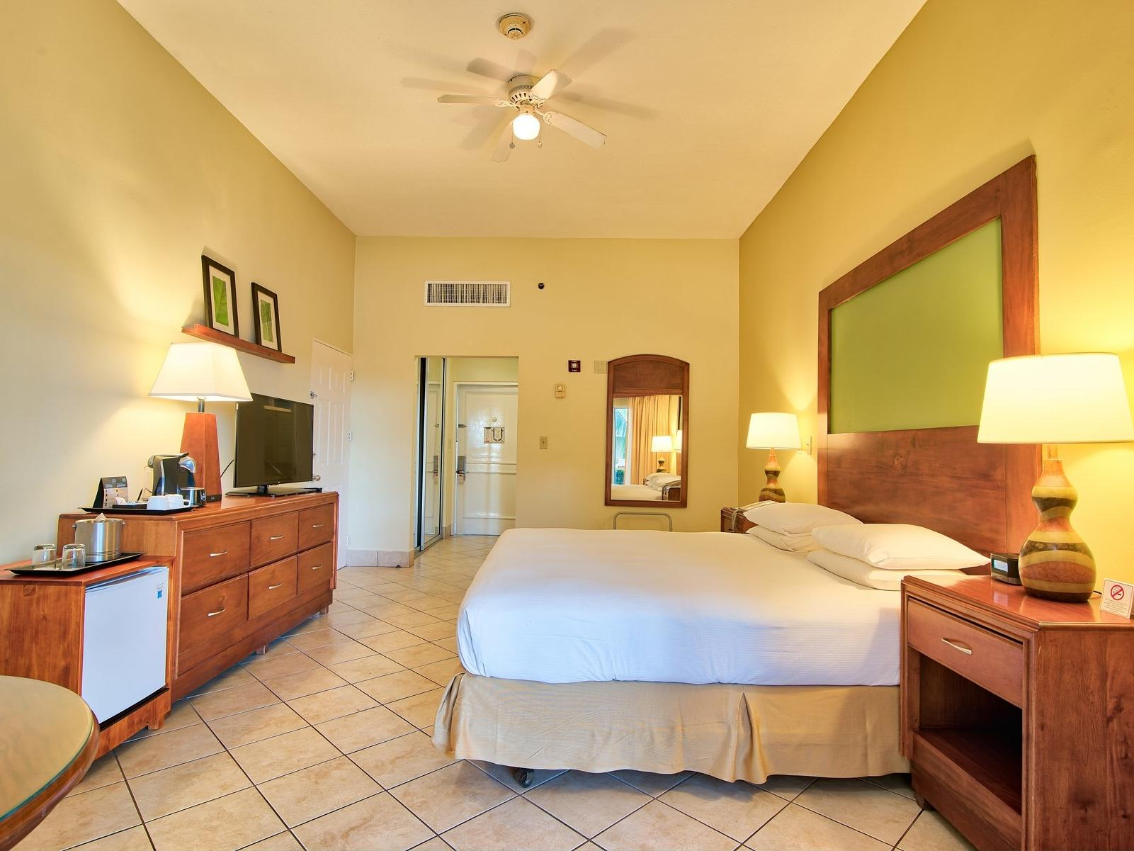 A view of Accessibility preference one king bed at fiesta resort