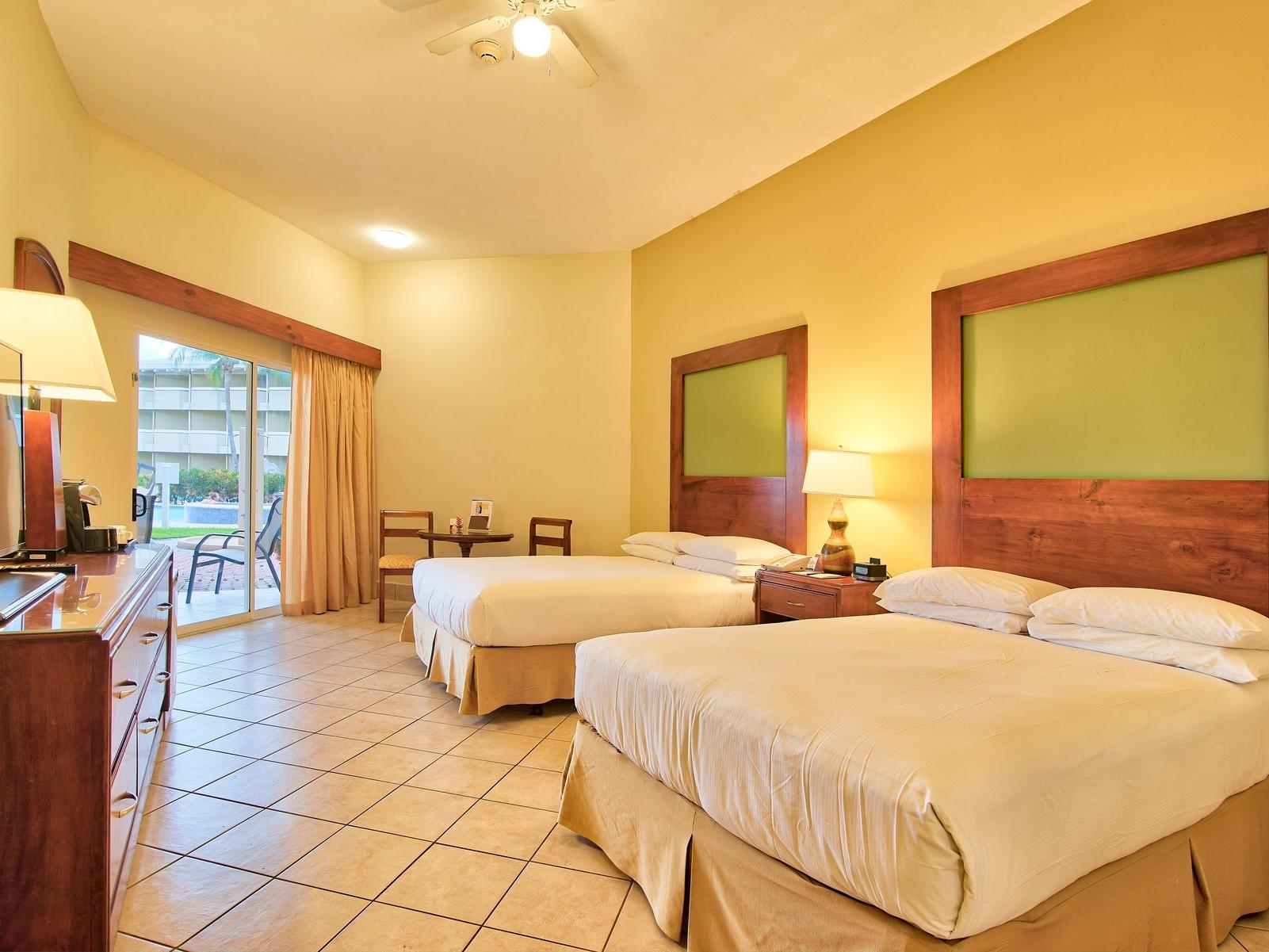 Accessibility preference large 2 king bed at Fiesta Resort