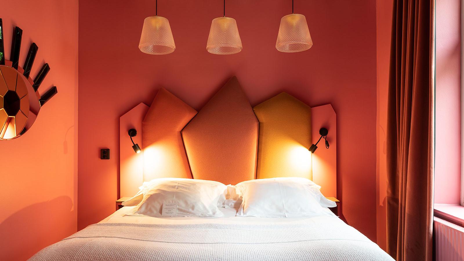 Small Room at Hotel Flora in Gothenburg, Sweden