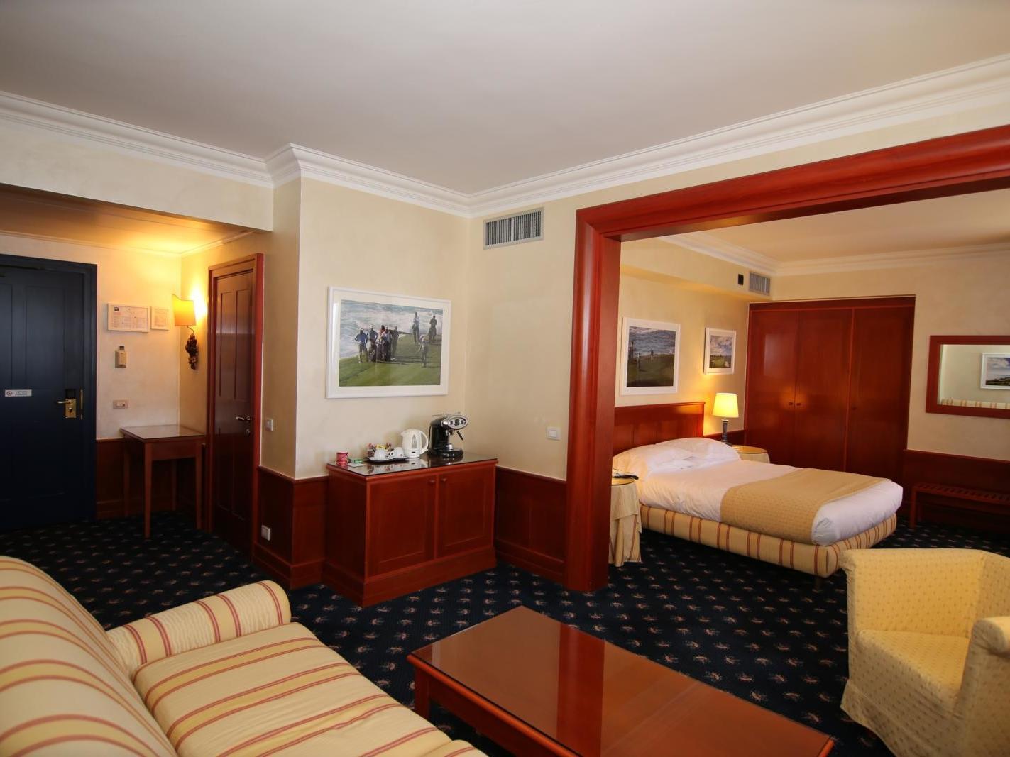 Junior Suite | Golf Hotel Cavaglia