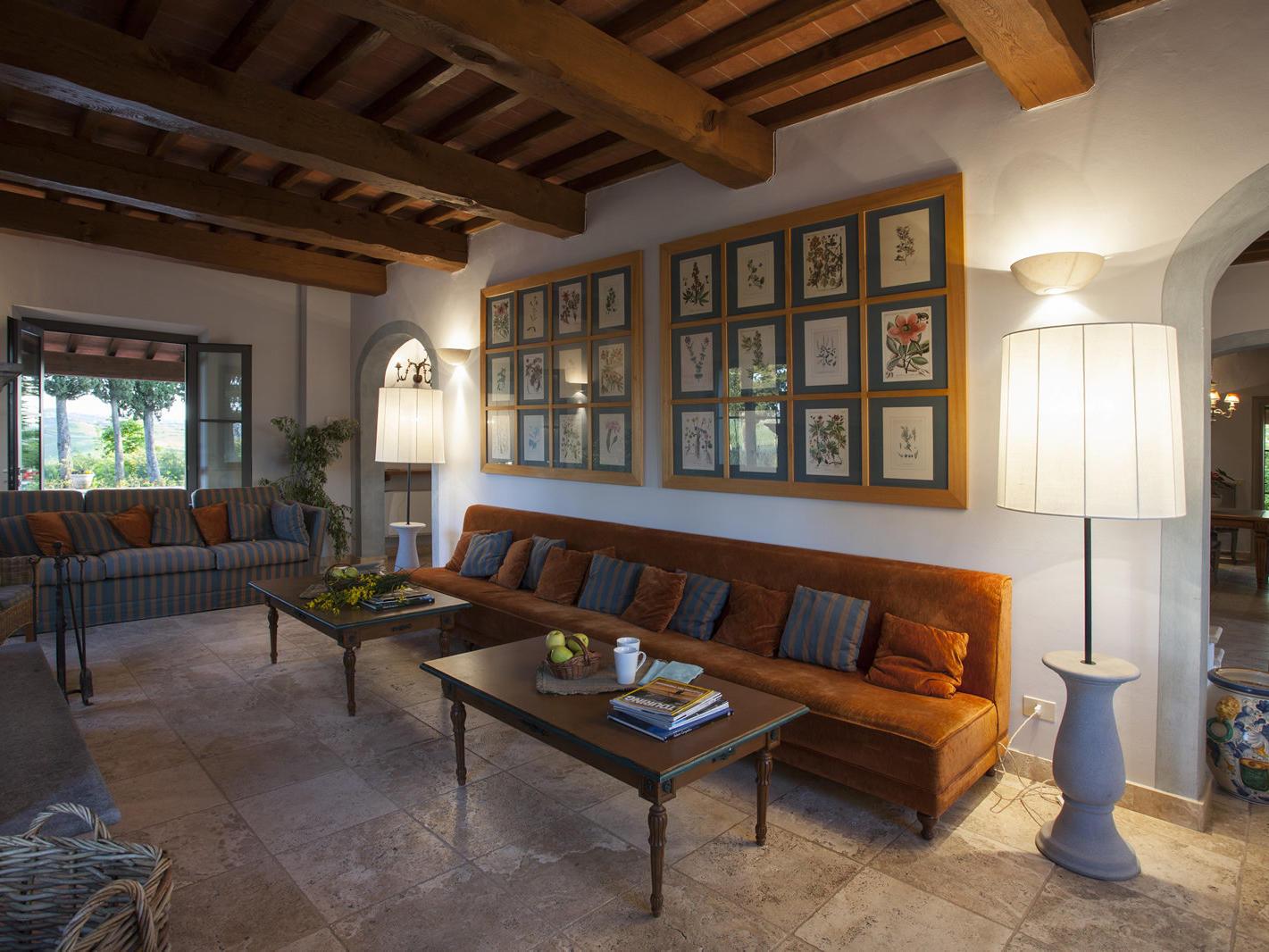 Living Room | Fattoria Santo Stefano