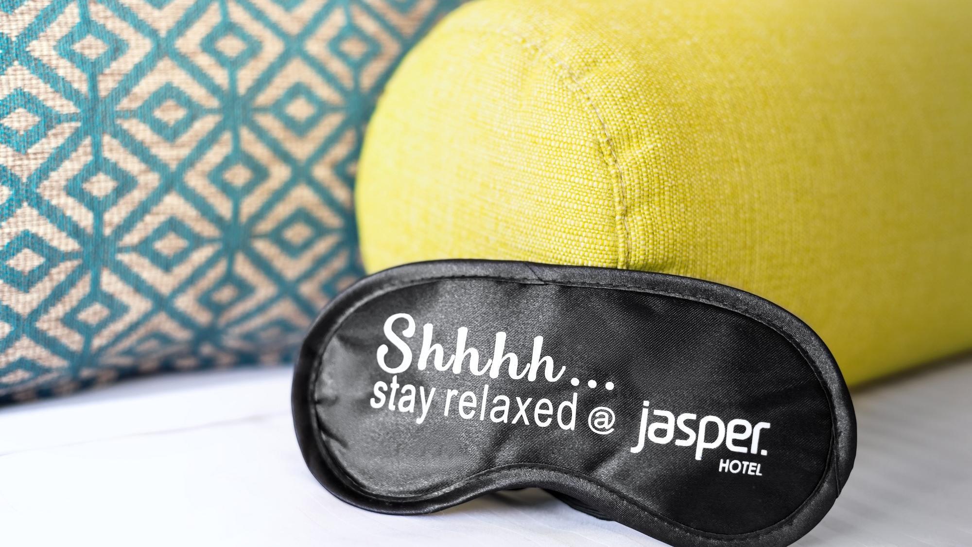 Mask at Deluxe Queen Room of Jasper Hotel Melbourne