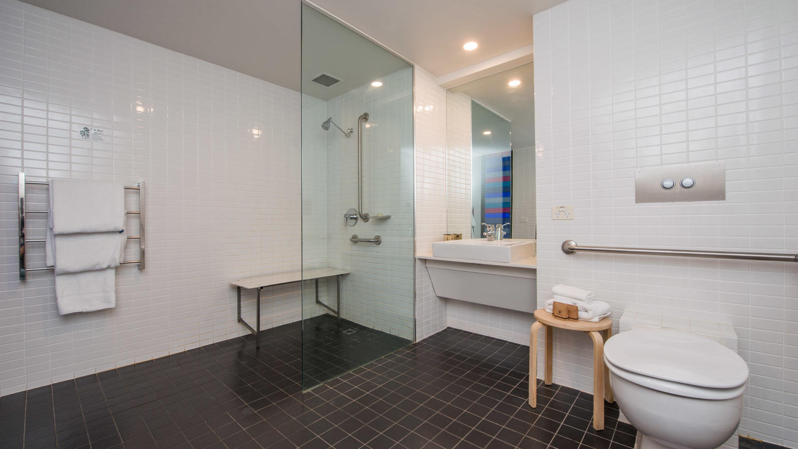 Bahtroom of Deluxe Family Room at Jasper Hotel Melbourne