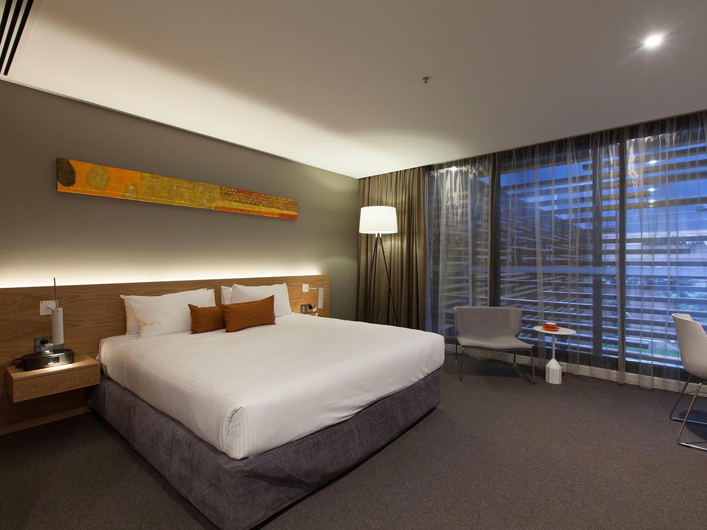 Premium Courtyard View Room at Jasper Hotel Melbourne