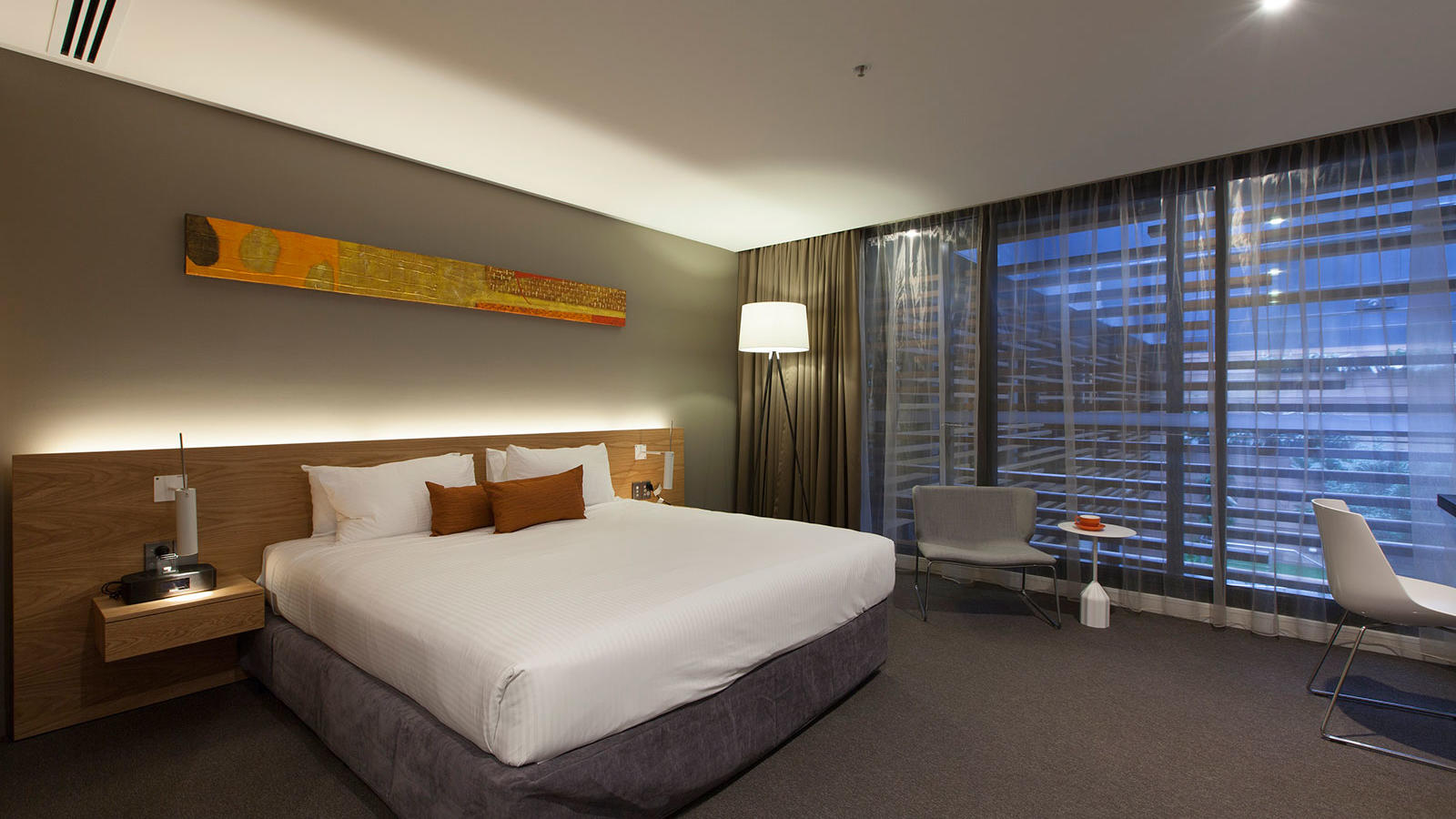 Premium Courtyard View Room at Jasper Hotel Melbourne