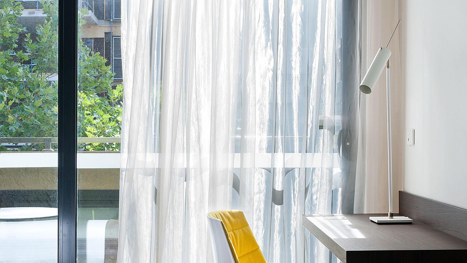 Elizabeth Street Balcony Room at Jasper Hotel Melbourne