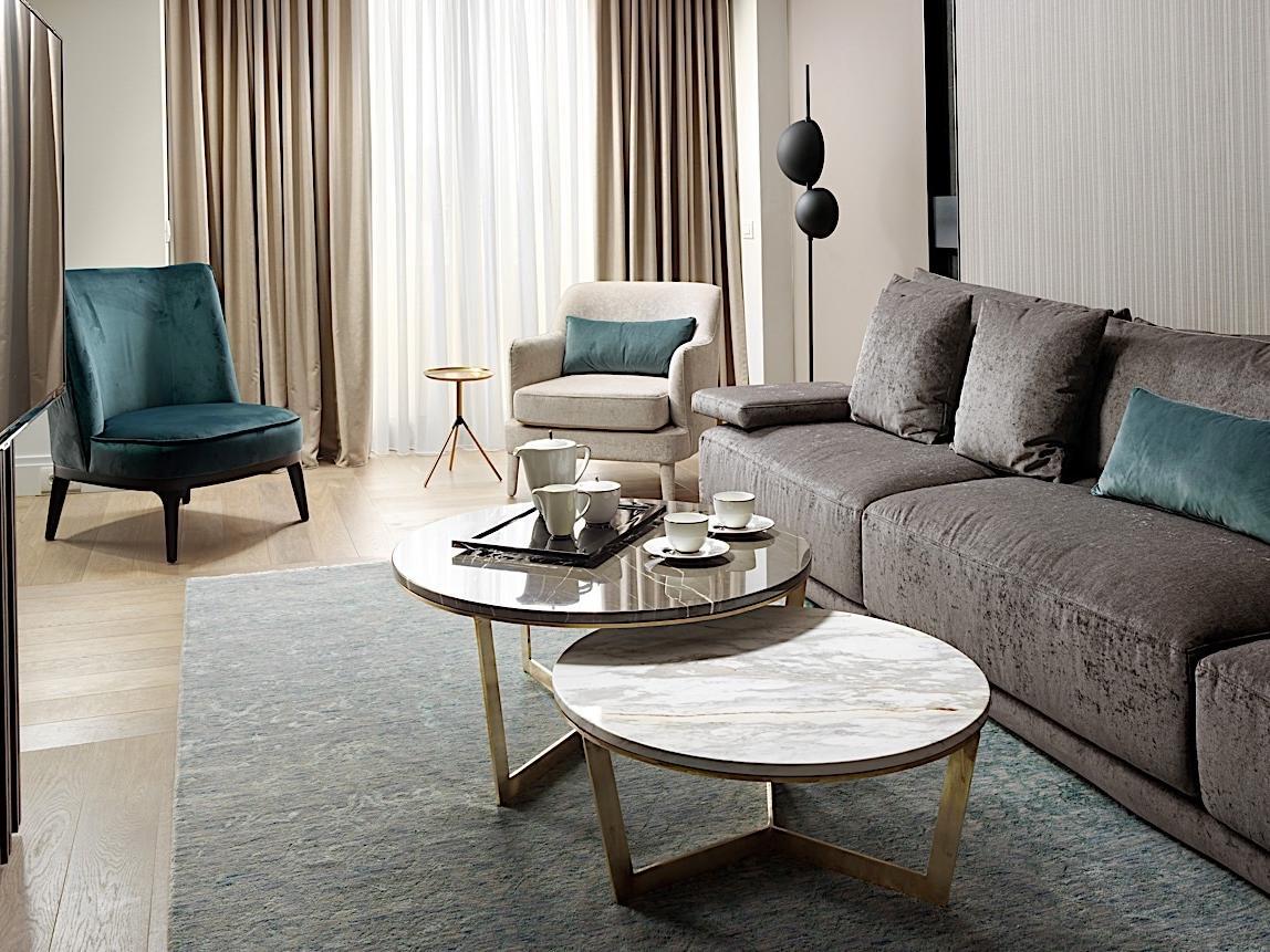 Living Room Presidential Suite NJV Athens Plaza
