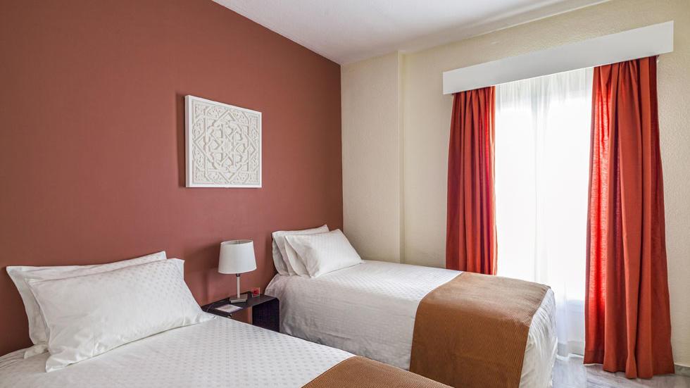 Habitación del apartamento de dos habitaciones de Sahara Sunset, Málaga