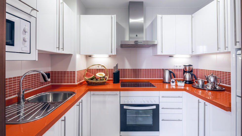 Two Bedroom Apartment Kitchen at Sahara Sunset