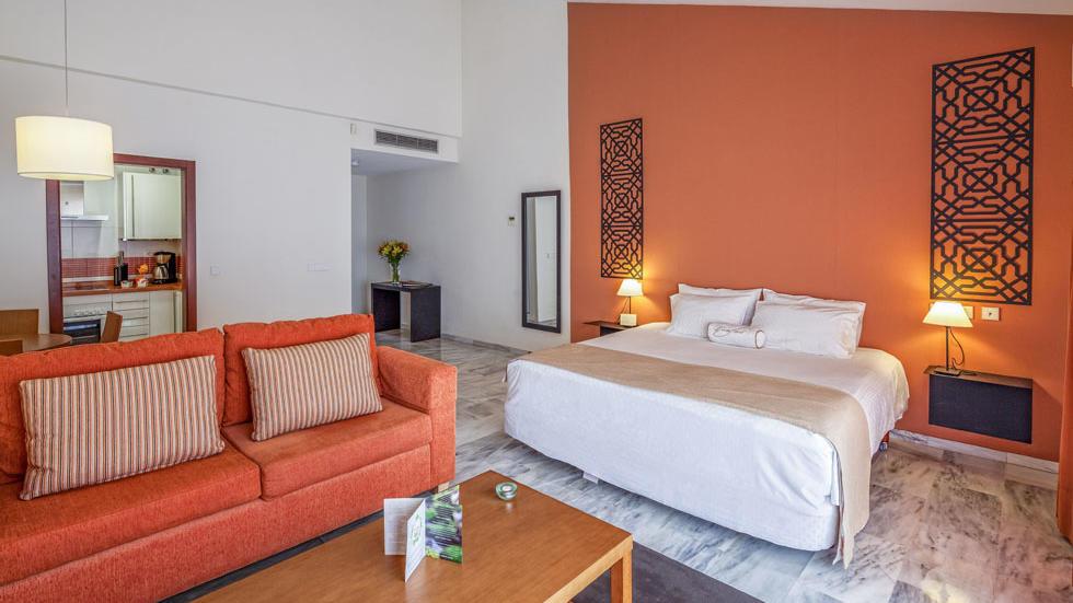 Studio Apartment Bed at Sahara Sunset