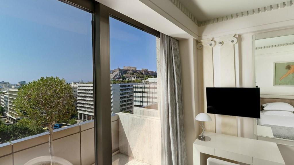 View Deluxe Room NJV Athens Plaza