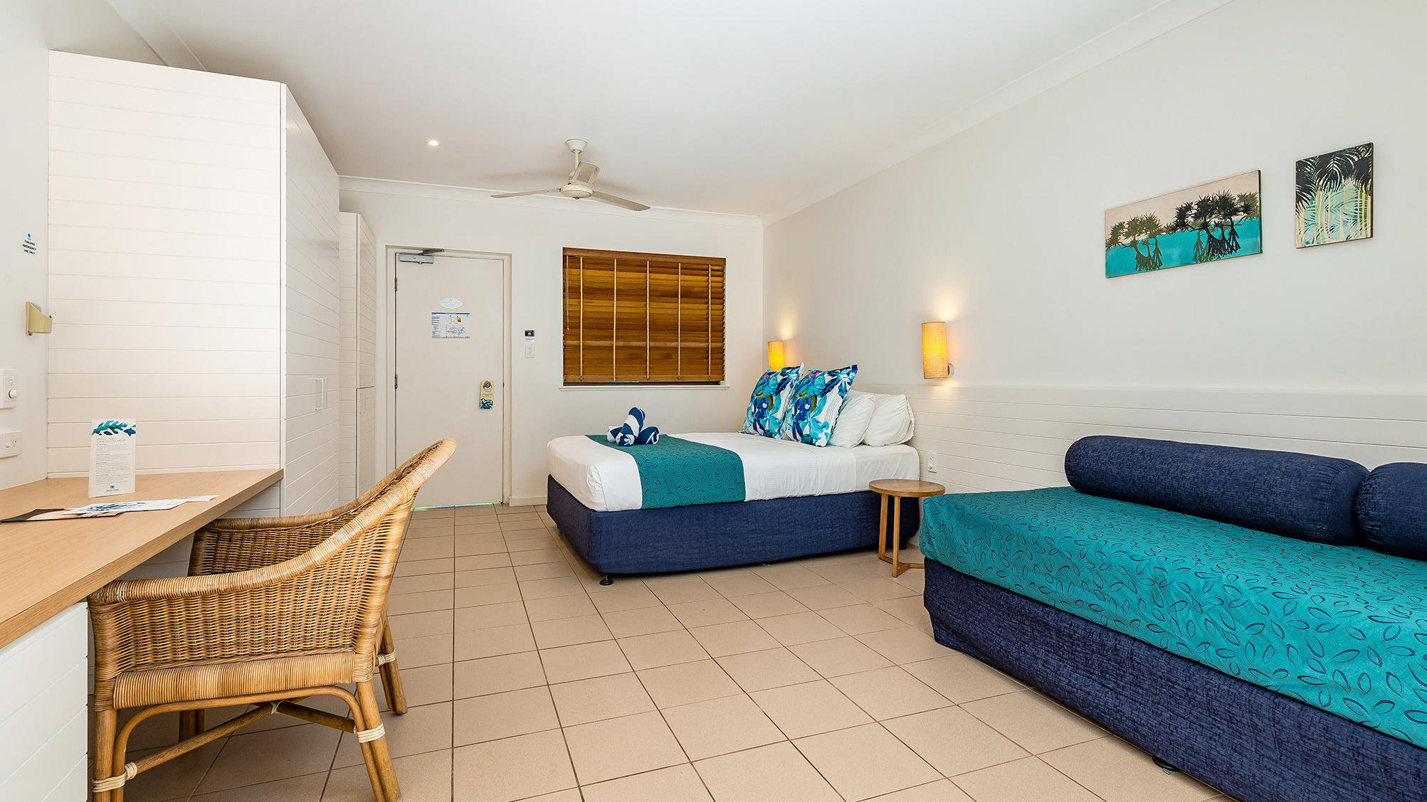 Reef Room at Heron Island Resort in Queensland, Australia