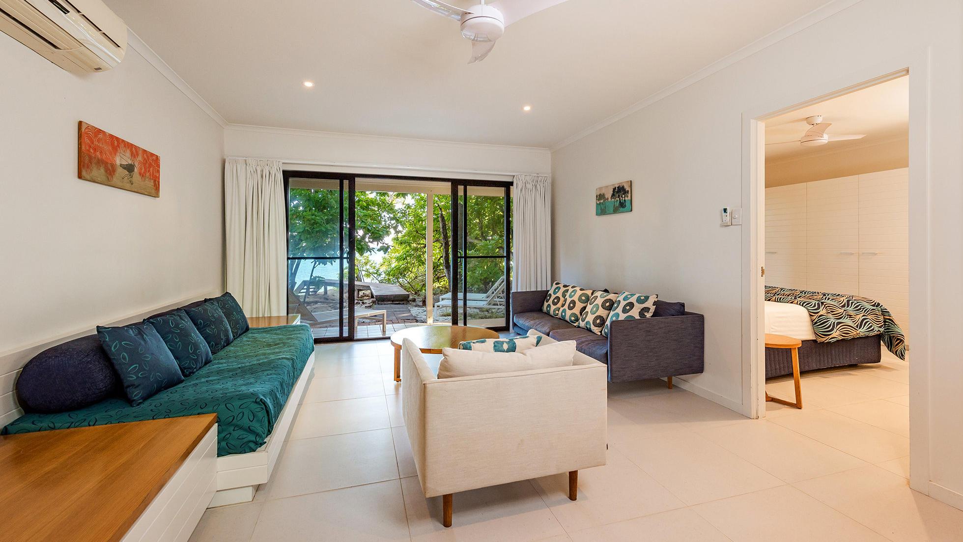 Beach House at Heron Island Resort in Queensland, Australia