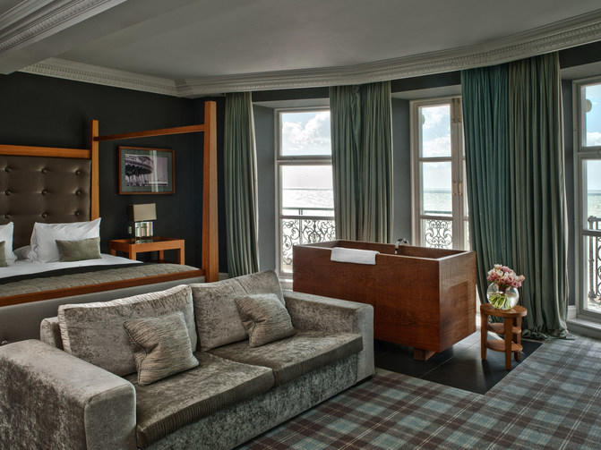 Feature Seaview Room at The Grand Brighton