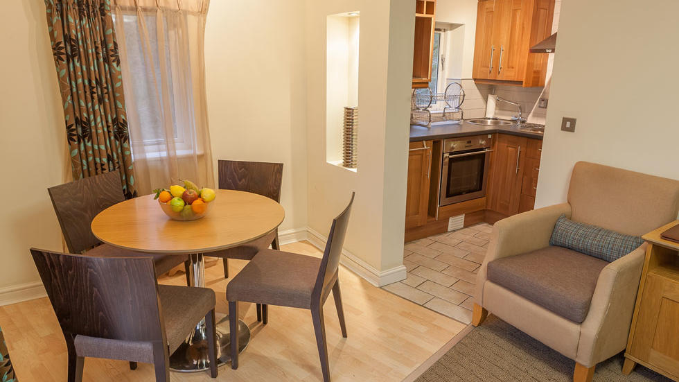 One Bedroom Apartment for 3 Table at Woodford Bridge Country Club