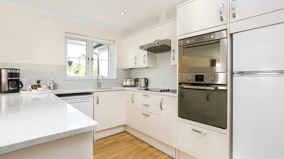Two Bedroom House Kitchen at Woodford Bridge Country Club