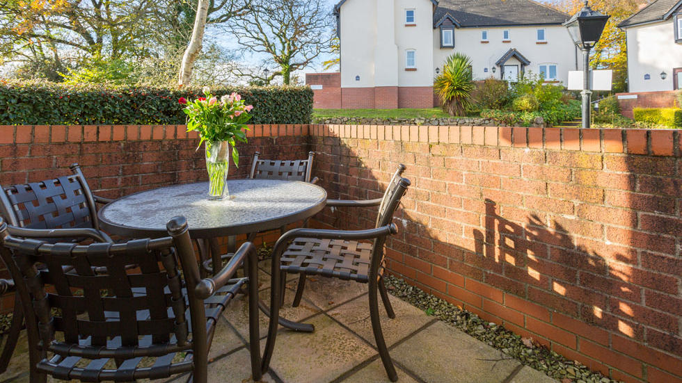 Two Bedroom House Terrace at Woodford Bridge Country Club
