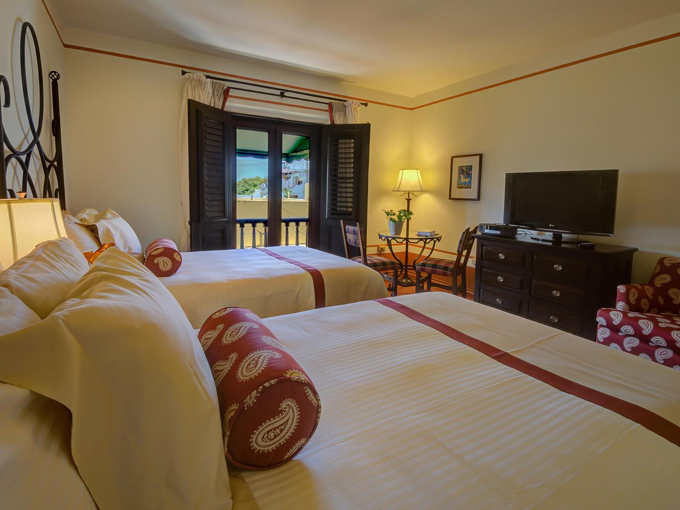 Double deluxe bedroom