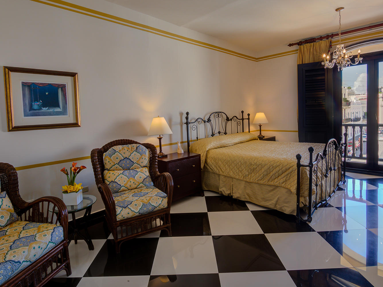 Pablo Casals Bedroom