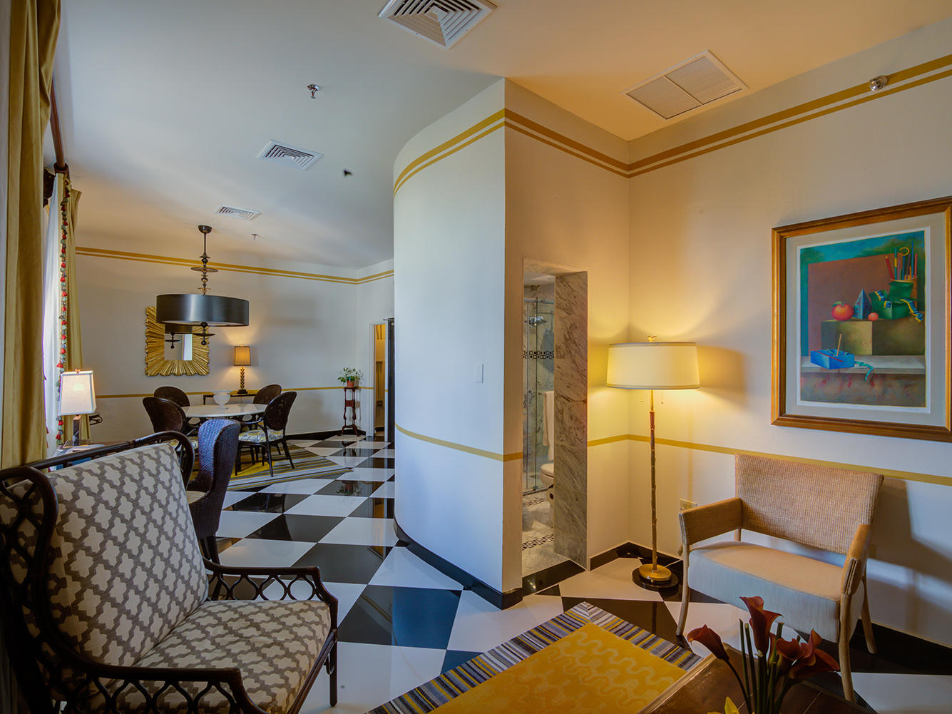 Pablo Casals Living Room