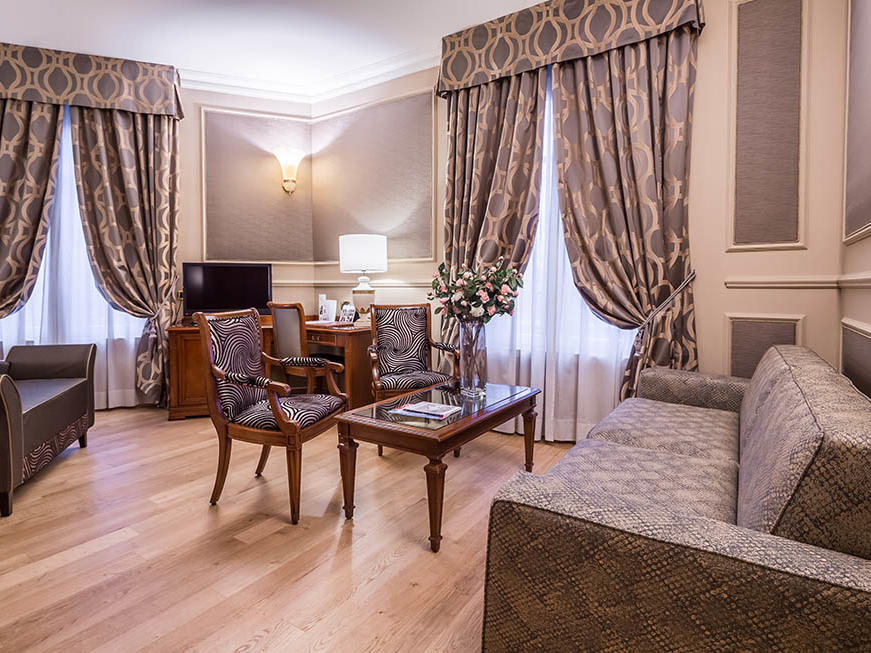 Junior Suite at Grand Visconti Palace in Milan