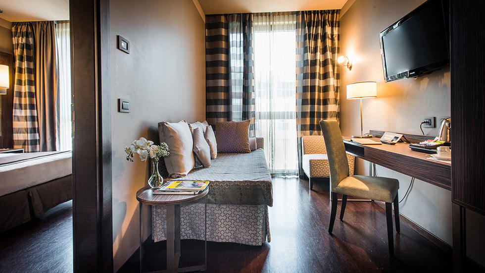 Junior Suite at Uptown Palace in Milan