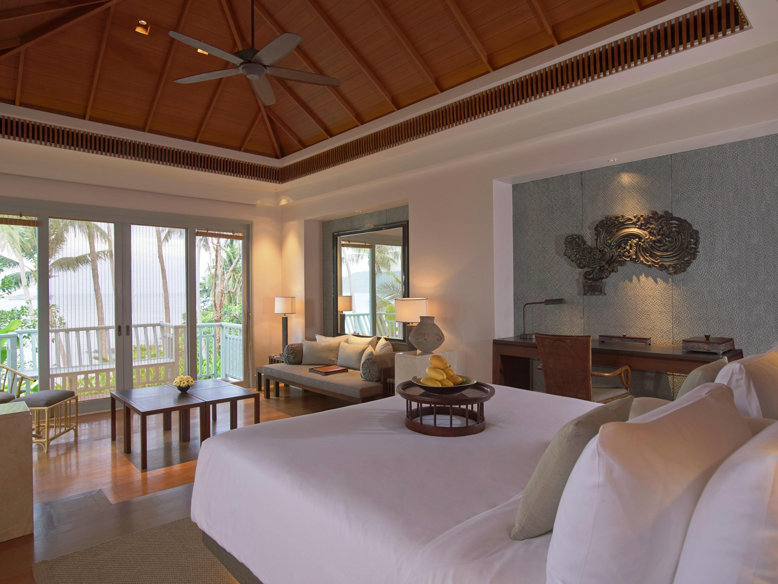 Amatara Wellness Resort - Bay View Pool Villa bedroom