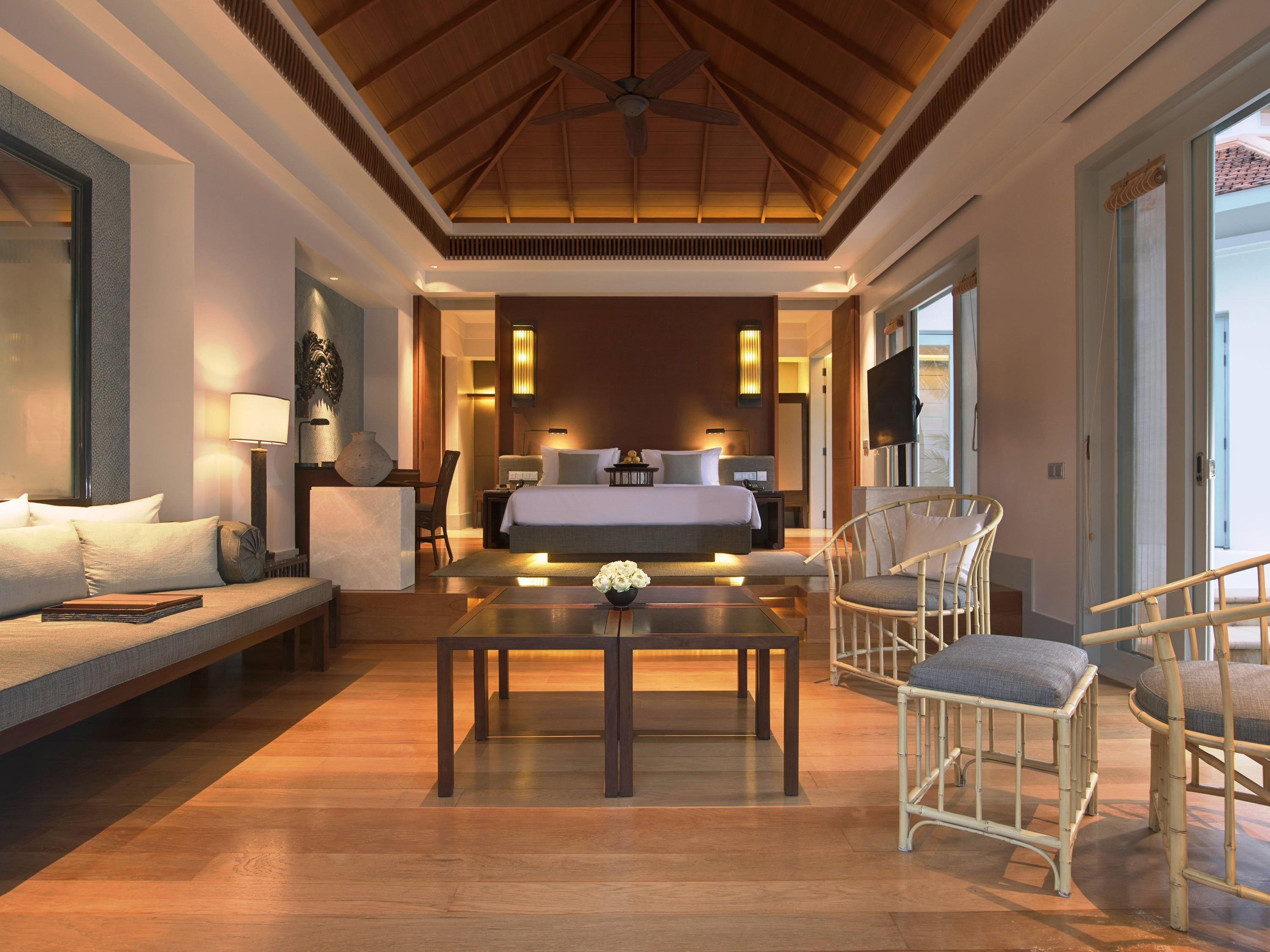 Amatara Wellness Resort - Ocean View Pool Villa interior