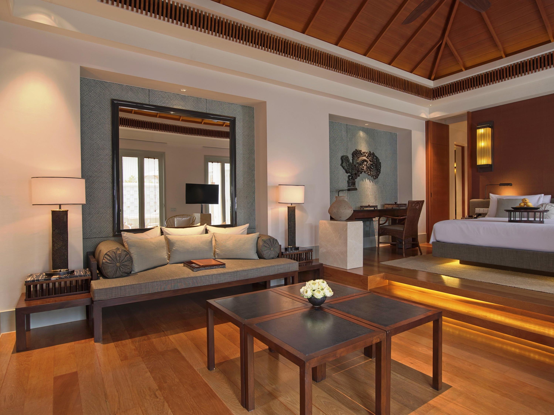 Amatara Wellness Resort - Ocean View Pool Villa living area