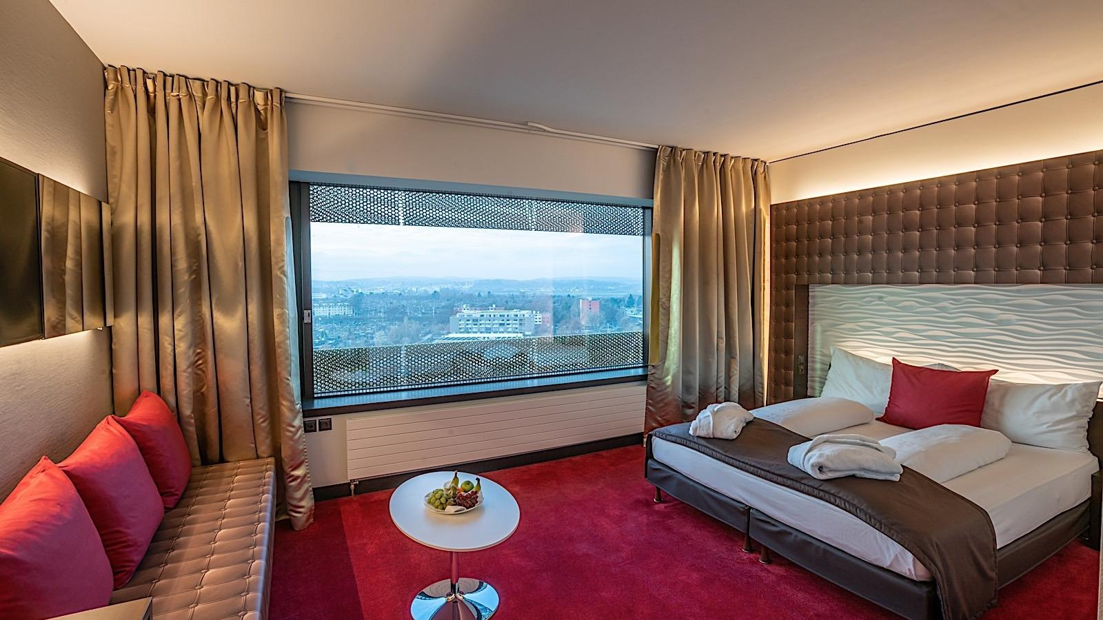 Executive Room Sky View at Airport Hotel Basel