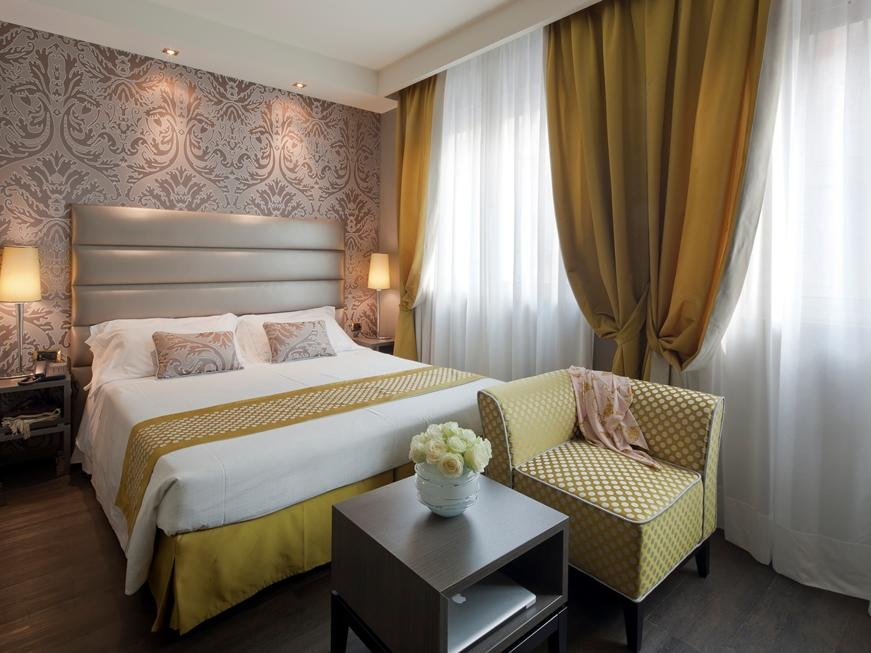 Deluxe Double Room at Hotel Mozart in Milan