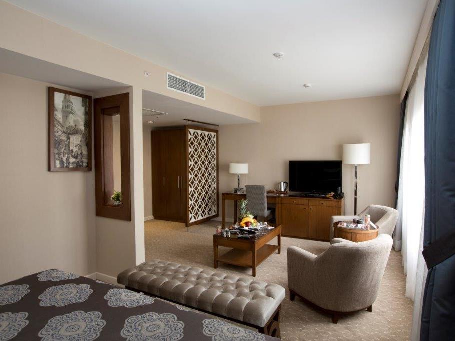 Superior room at Miracle Istanbul Asia Spa & Hotel