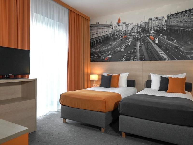 Twin Standard Room at Hotel MDM Warsaw