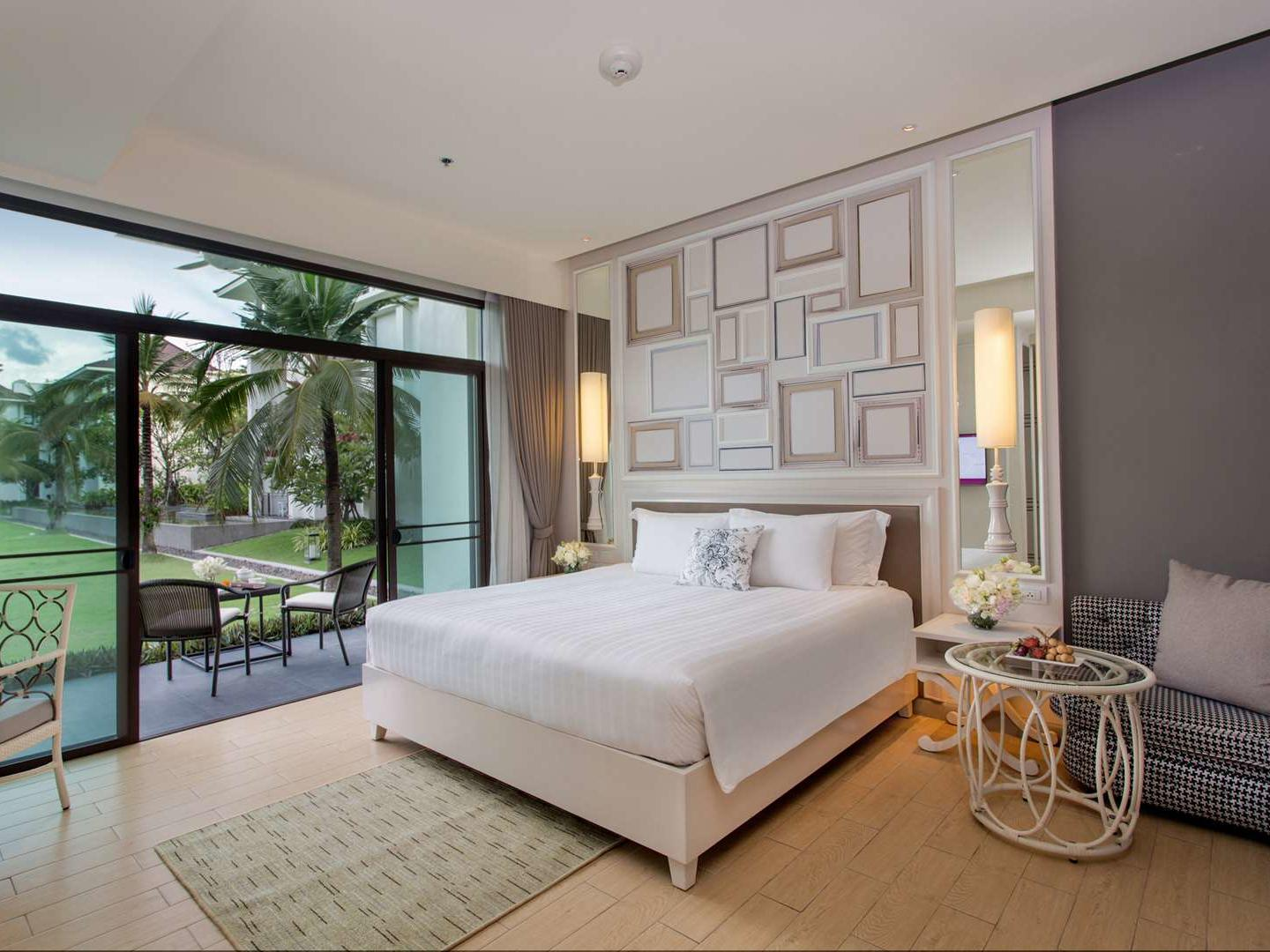 Terrace Garden View room at U Hotels and Resorts