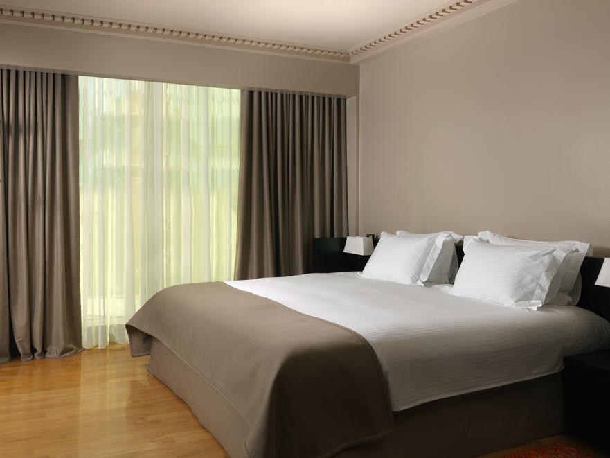 acropolis view deluxe suite at NJV Athens Plaza hotel