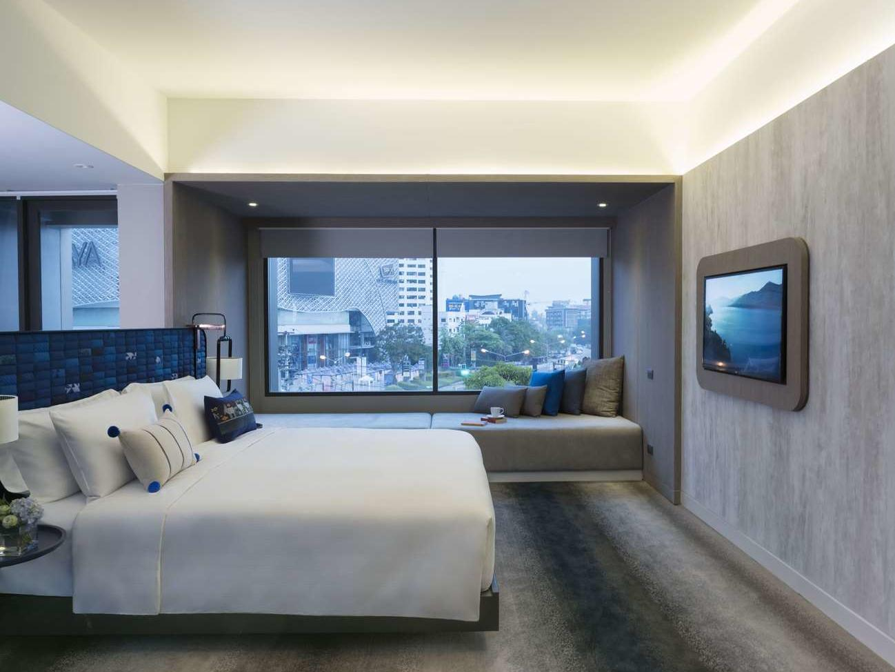 Premium Deluxe Corner room at U Hotels and Resorts