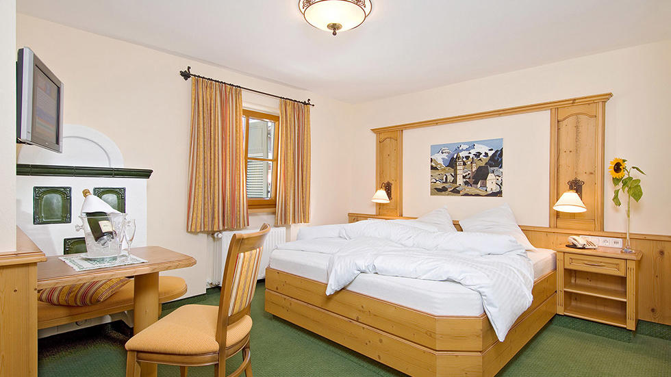 Room at Gasthof Eggerwirt Hotel in Kitzbühel, Austria
