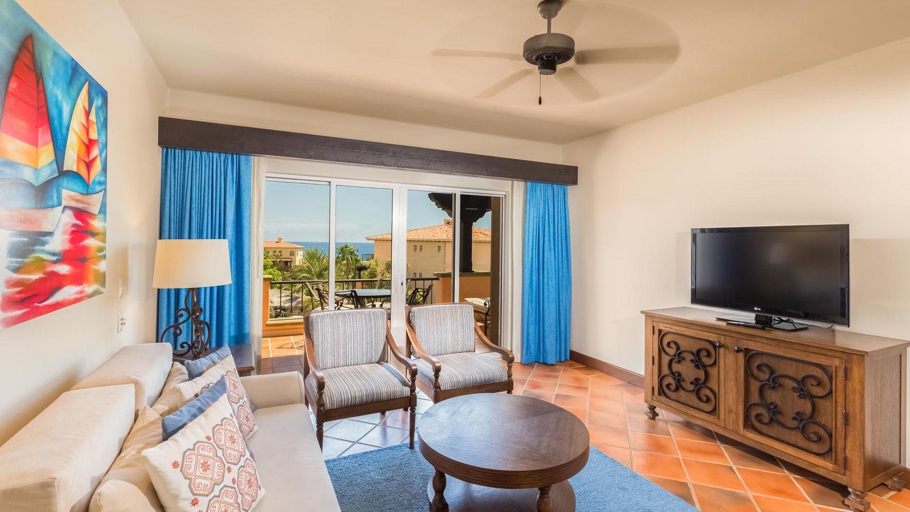 Penthouse Suite Living area