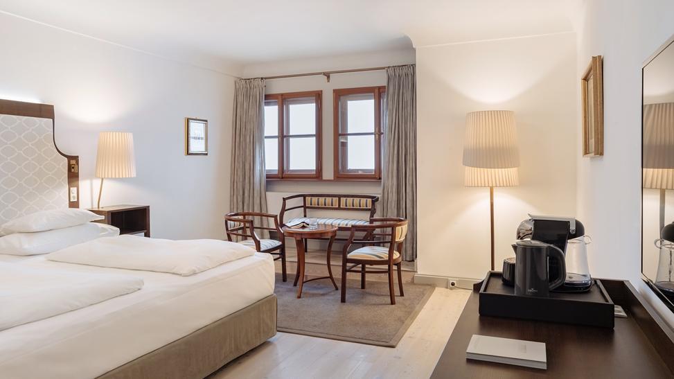 Doppelzimmer Deluxe im Schloss Pichlarn