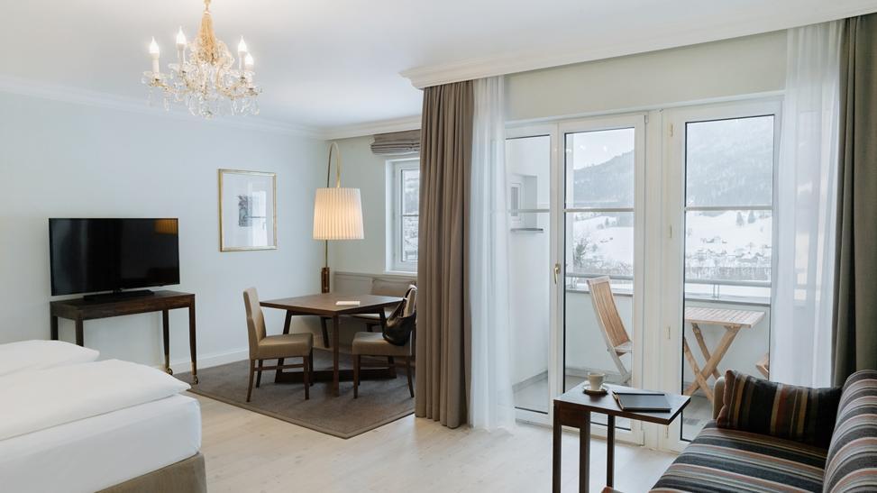 Junior Suite mit Balkon im Schloss Pichlarn