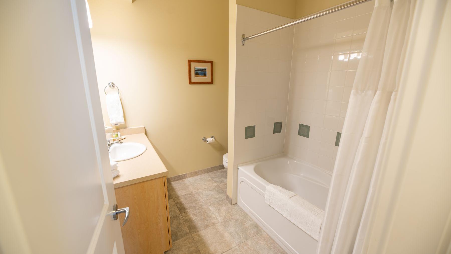 two bedroom suite bathrooms