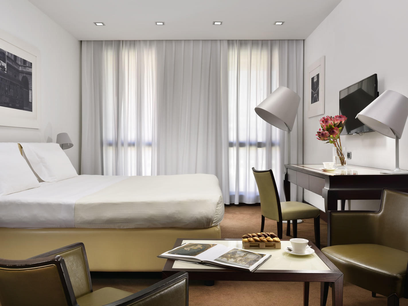 Executive room | UNAHOTELS Cusani Milano