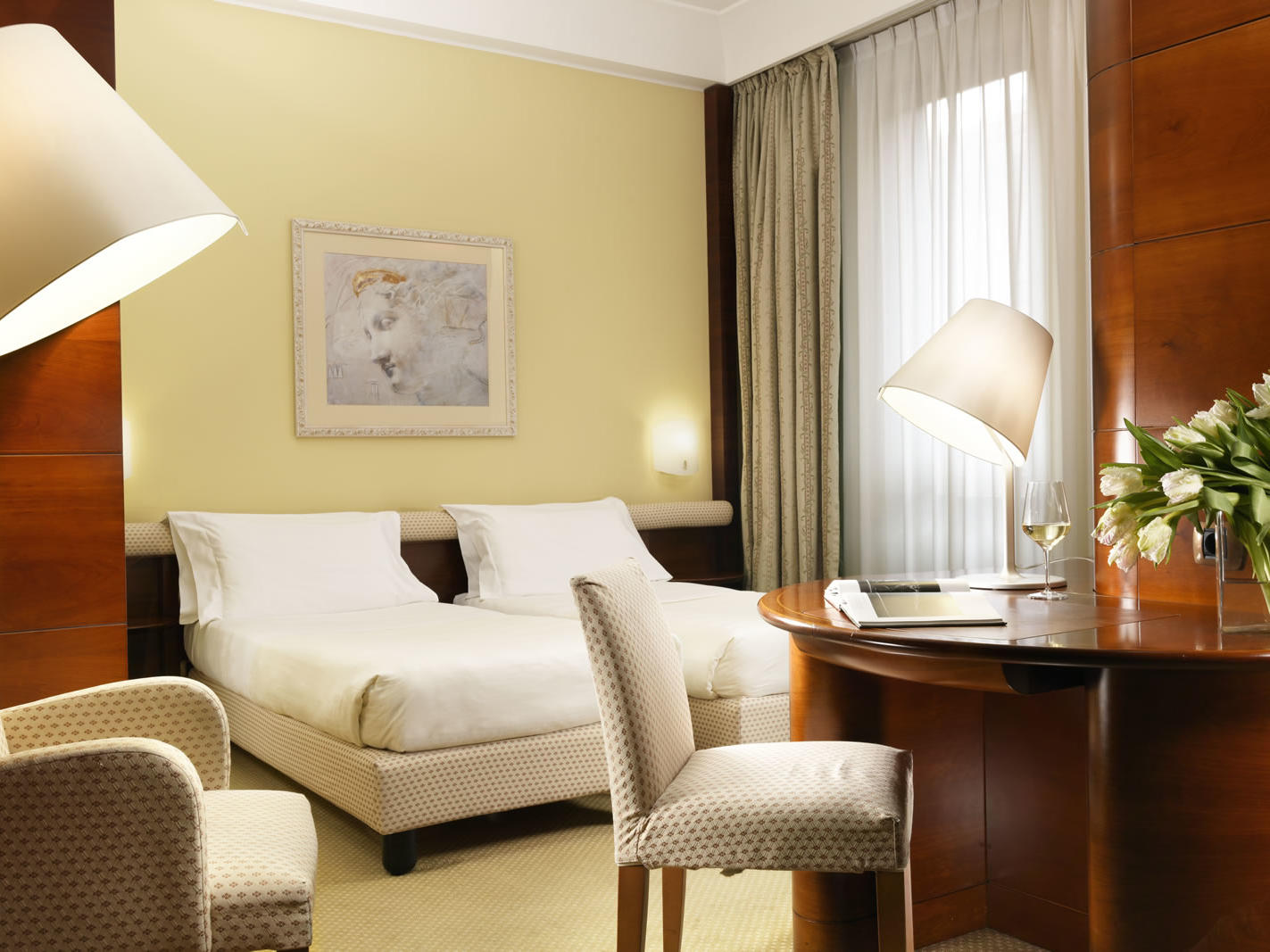 Superior Twin room | UNAHOTELS Cusani Milano